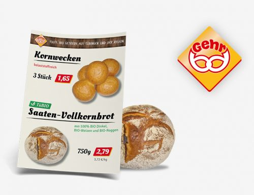 Corporate Design für Bäckerei Gehr