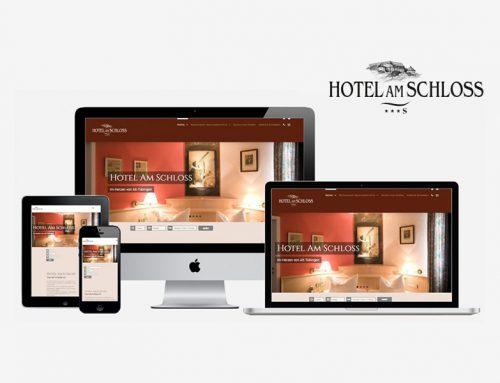 Webauftritt Hotel Am Schloss