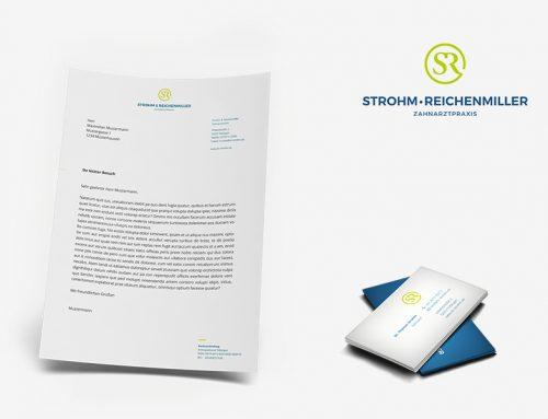 Neues Logo & Corporate Design für die Praxis Strohm & Reichenmiller